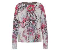 Pullover 'Flower Print' mischfarben