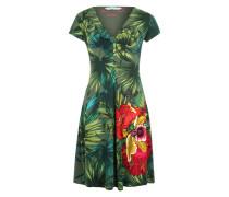 Sommerkleid mit Print 'Maroni' khaki / mischfarben