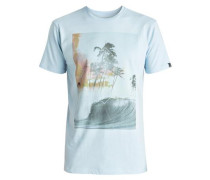 T-Shirt 'Classic Wave Thunder' hellblau