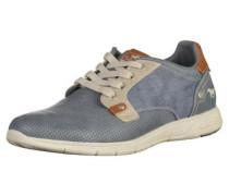Sneaker beige / taubenblau