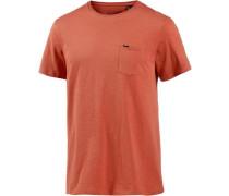 'Jacks Base' T-Shirt rostrot