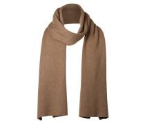 Klassischer Schal braun