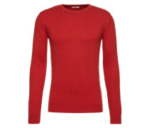 Pullover mit Kaschmir-Anteil rot