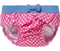 Baby Schwimmwindel für Mädchen hellblau / pink / weiß