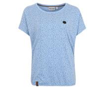 T-Shirt 'Detroit House IV' blau