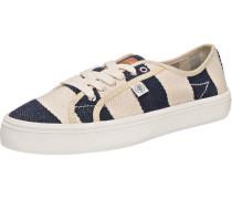 Canvas Sneaker creme / navy