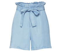 Shorts 'nmendi Belted Shorts' blue denim