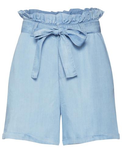 Shorts 'nmendi Belted Shorts' blue denim