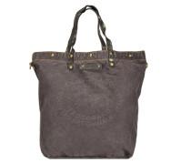 Biancospino Donna Shopper Tasche 35 cm schwarz