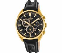 Chronograph »F20268/3« gold / schwarz