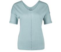 Leinen-Shirt Kopenhagen blau