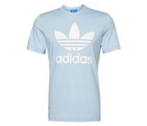 T-Shirt mit Rundhalsausschnitt hellblau