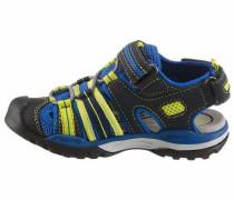 Sandale 'J Borealis' blau / gelb / graphit