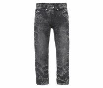 Regular-fit-Jeans grau