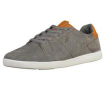 Sneaker rauchgrau / dunkelorange