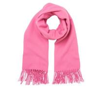 Gestrickter Schal pink