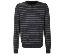 Sweater 'larix' grau / schwarz