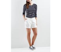 Schlichte Shorts 'vimilas' weiß
