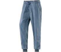 'Ines' Beach Hose blue denim