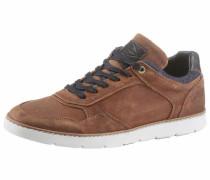 Sneaker blau / braun / schwarz