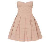 Bandeau-Kleid in Mini-Länge rosa
