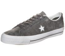 Cons One Star Suede Sneaker grau