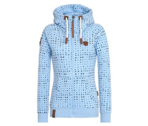Zipped Jacket 'Stern aller Brazzos IV' marine / rauchblau