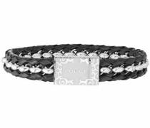 Armband 'orlando Pj26053Bls.01-L' schwarz / silber