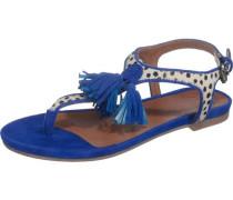 Sandaletten 'Nantes' blau / mischfarben