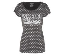 Shirt '172Glgt003 - A003' anthrazit / weiß