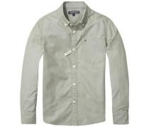 Hemd 'ame DG Thdm Basic Solid Shirt L/s' pastellgrün