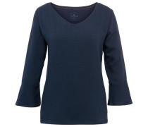 Shirt mit Volant-Ansatz am Armsaum