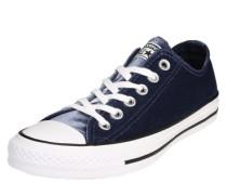 Samt-Sneaker 'Chuck Taylor All Star ox' blau