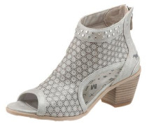 Sandalette grau / silber