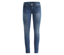 'Lulu' Slim Fit Jeans blau