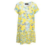 Kleid mit Blumen-Print mischfarben