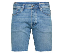 Regular Fit-Jeansshorts blue denim