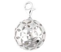 Charm Spheric Square silber