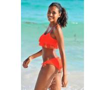 Bustier-Bikini orange