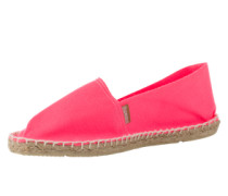 Espadrilles mit gummierter Sohle 'Classic' pink