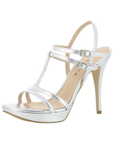 Sandalette 'Valeria' silber