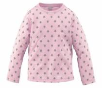 Langarmshirt grau / rosa