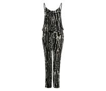 Jumpsuit mit Alloverprint mischfarben / schwarz