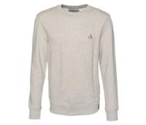 Sweatshirt in Melange-Design 'Heroik' grau
