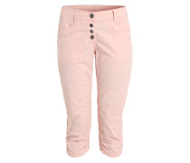 Stoffhose im Relaxed-Fit pink