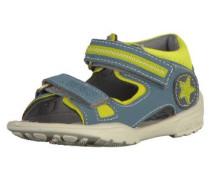 Sandalen blau / hellgrün