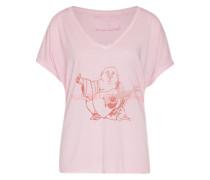 Shirt 'Relax SS Buddha' pink