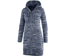 Strickjacke blau