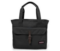 'Flail' Shopper Tasche 36 cm Laptopfach schwarz