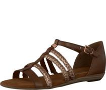 Sandale braun / gold
